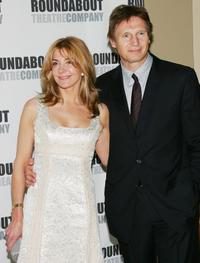 Natasha Richardson at the Roundabout Theatre Company's Spring Gala 2006.
