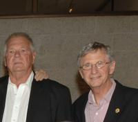 Gary Lockwood and Daniel Richter at the 40th Anniversary screening of