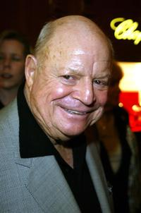 Don Rickles at the Chopard party for Jackie Collins new Book