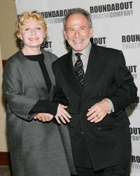 Ron Rifkin and his wife Iva at the Roundabout Theatre Company's Spring Gala 2006.