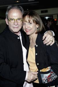 Ron Rifkin and Valerie Harper at the opening of