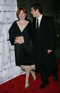 Molly Ringwald and guest attend the 2004 Princess Grace Awards.