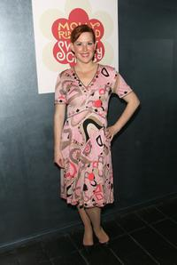 Molly Ringwald at the after party for the opening night performance of
