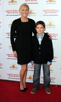 Brittany Hein and Preston Bailey at the screening of