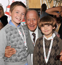 Brennan Bailey, Art Linkletter and Preston Bailey at the Variety's 3rd Annual Power of Youth Event.