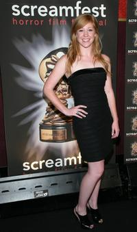 Rachel Kerbs at the premiere of