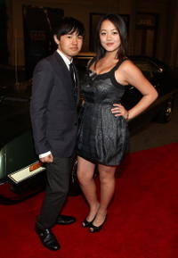 Bee Vang and Ahney Her at the world premiere of