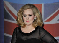 Adele at the BRIT Awards 2012 in London.
