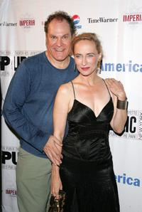 Jay O. Sanders and Laila Robins at the after party for the opening of