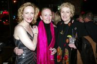 Laila Robins, Kathleen Chalfant, and Lynn Redgrave at the after party for the opening night of