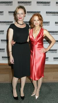 Laila Robins and Swoosie Kurtz at the Heartbreak House debut.