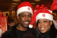 Chris Rock and Tichina Arnold at the Salvation Army and Safe Horizon very special
