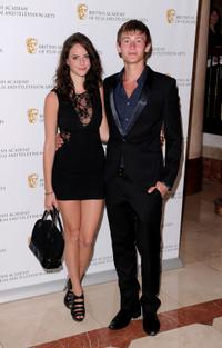 Kaya Scodelario and Elliott Tittensor at the British Academy Television Craft Awards.