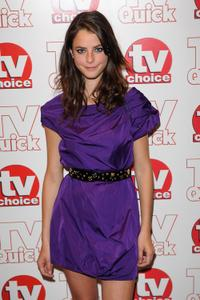 Kaya Scodelario at the TV Quick and TV Choice Awards.