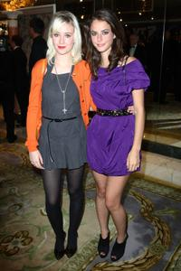 Lily Loveless and Kaya Scodelario at the TV Quick and TV Choice Awards.