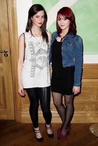 Kaya Scodelario and Megan Prescott at the VIP screening of