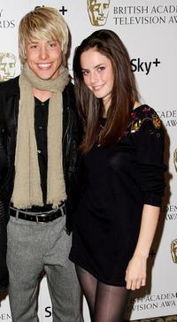 Maxxie Hewer and Kaya Scodelario at the British Academy Television And Craft Awards Nominees Reception.