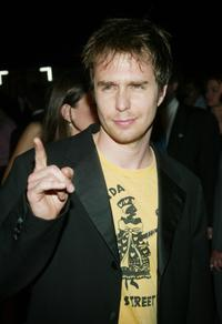 Sam Rockwell at the after party of the special screening of