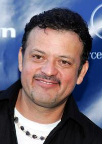Paul Rodriguez at the celebrity tennis tournament before the start the 78th Annual Mercedes-Benz Cup Tennis Tournament.