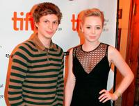 Michael Cera and Portia Doubleday at the screening of