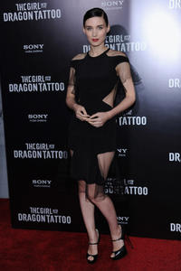 Rooney Mara at the New York premiere of