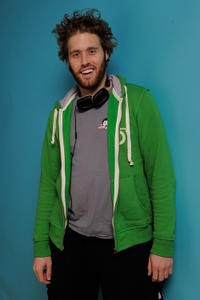 TJ Miller at the portrait session of