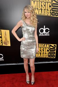 Taylor Swift at the 2008 American Music Awards.