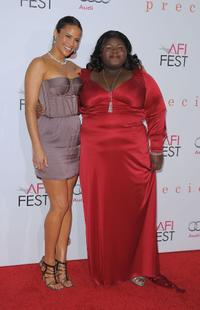 Paula Patton and Gabourey Sidibe at the AFI FEST 2009.