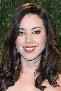 Aubrey Plaza at the 2013 Vanity Fair Oscar Party in Hollywood.
