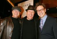 Michael Rooker, Gregg Lee Henry and James Gunn at the premiere of