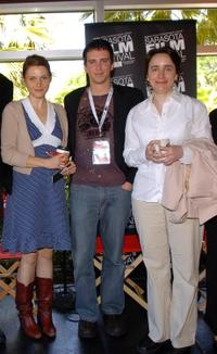 Amy Seimetz, Jason Perlman and Madeleine Olnek at the