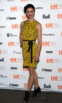 Amy Seimetz at the premiere of