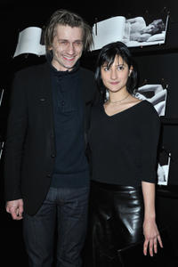 Stanislas Merhar and Lola Creton at the Chaumet's Cocktail Party for Cesar's Revelations 2013.