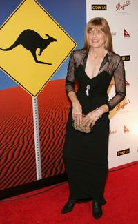 Katherine Ross at the Penfolds Gala Black Tie Dinner, the kick off event for G'Day LA: Australia Week 2005.