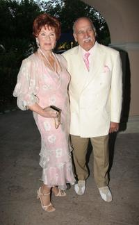 Marion Ross and Paul Michaels at the Hallmark Channel 2006 summer TCA party.