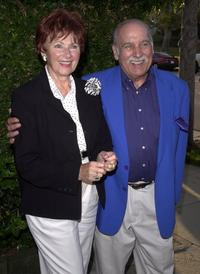 Marion Ross and Paul Michael at the special performance of