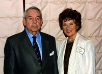 Tom Bosley and Marion Ross at the Pacific Pioneers Broadcast event.