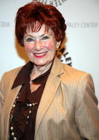 Marion Ross at the panel discussion celebrating Gary David Goldberg's autobiography