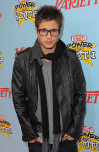Cody Longo at the Variety's 3rd Annual Power of Youth Event in California.
