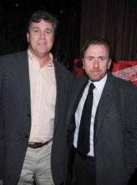 Tom Bernard and Tim Roth at the premiere of