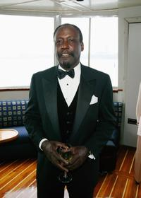 Richard Roundtree at the 9th annual Arthur Ashe Institute Sportsball and Awards Ceremony.