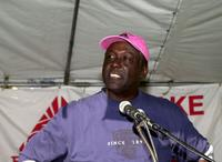 Richard Roundtree at the Sixth Annual Take-A-Hike for breast cancer research.
