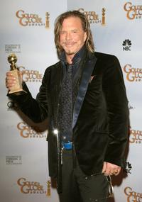 Mickey Rourke at the 66th Annual Golden Globe Awards.