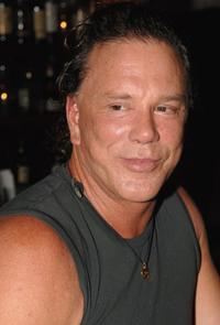 Mickey Rourke at the Raleigh Hotel in Miami, Florida.
