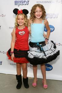 Emily Grace Reaves and Noah Cyrus at the Official Launch of New Disney & Muppet Myzos.