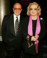 Gena Rowlands and Clive Davis at the 32nd Annual Vision Awards.