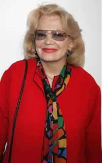 Gena Rowlands at the screening of TCM's documentary
