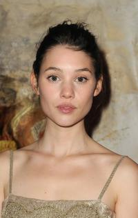 Astrid Berges-Frisbey at the Fashion Dinner for AIDS.