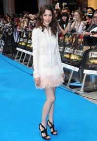 Astrid Berges-Frisbey at the UK premiere of