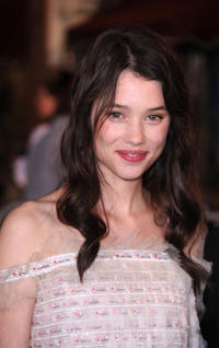 Astrid Berges-Frisbey at the California premiere of